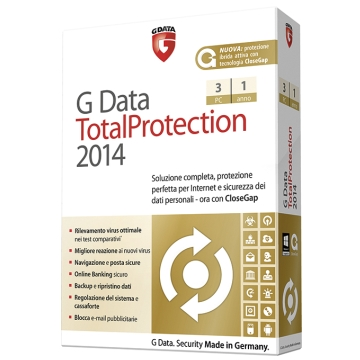 G DATA TOTALPROTECTION 2014 3 UTENTI