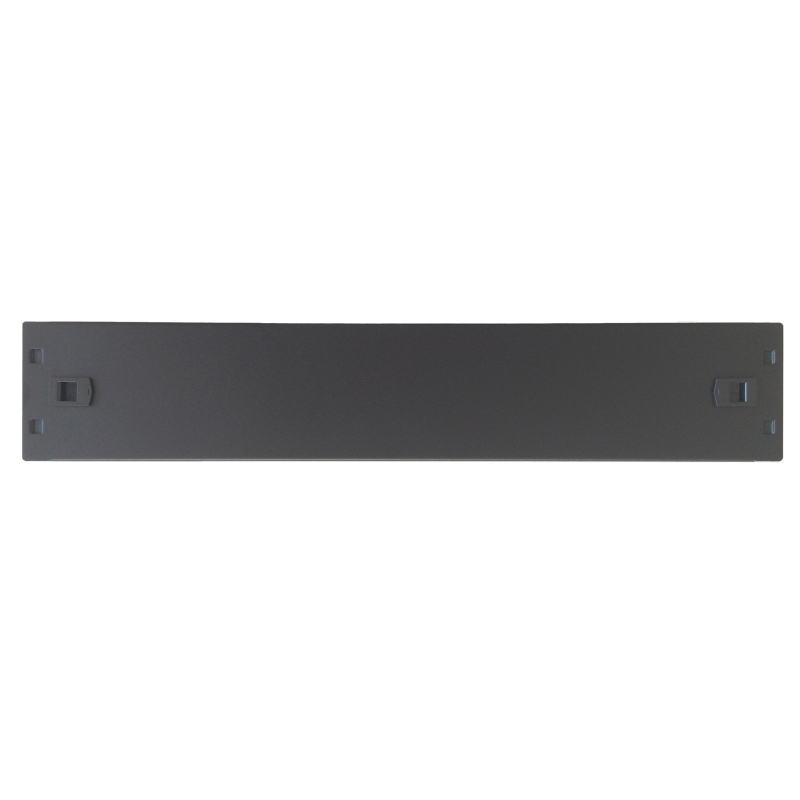 WPN-ABP-2SL-B | PANELLO CIECO SCREWLESS 2U, NERO RAL9005 | WP Rack | distributori informatica