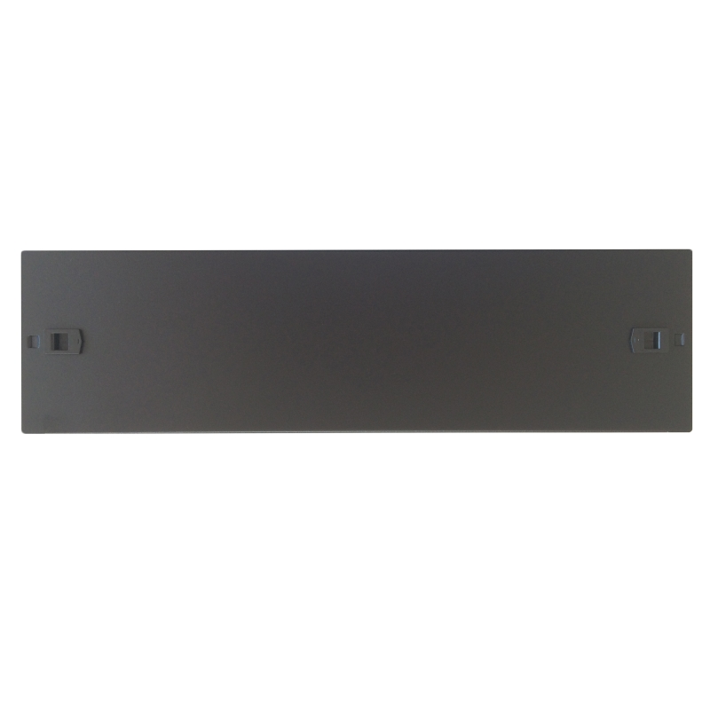 WPN-ABP-3SL-B | PANELLO CIECO SCREWLESS 3U, NERO RAL9005 | WP Rack | distributori informatica