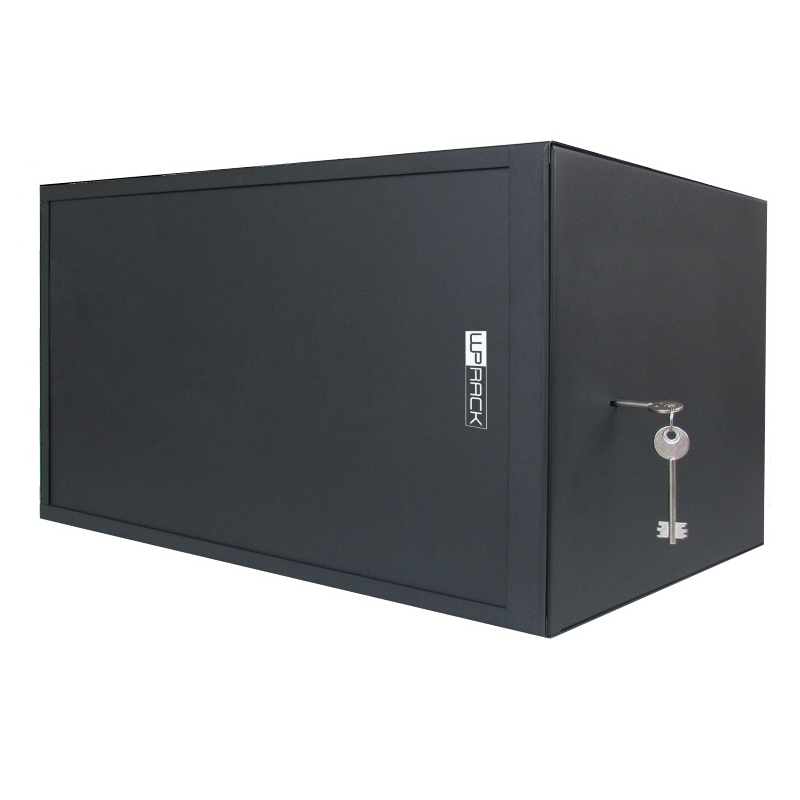 "WPN-RWS-06504-B | SECURITY RACK 19"" SERIE RWS 6U NERO PROF. 400MM 
