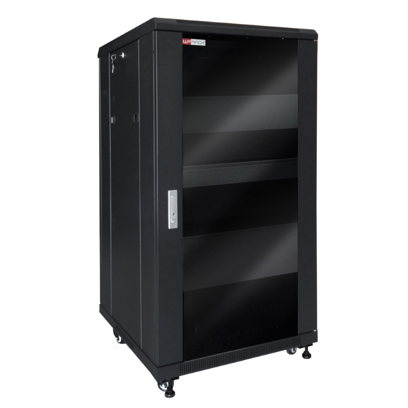 "WPN-RNV-22606-B | ARMADIO RACK AUDIO VIDEO 19"" 22U SERIE RNV 600X600 MM, NERO 
