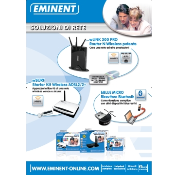 CMK-POS-PST/NT | POSTER EMINENT NETWORKING | Eminent | distributori informatica